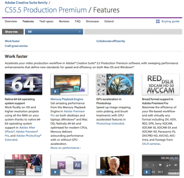 50% de descuento en Adobe Creative Suite Production Premium