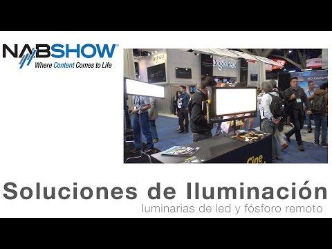 Soluciones de Iluminación – NAB 2016