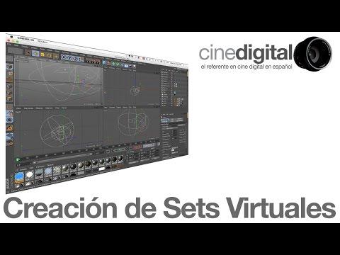 Creación de Sets Virtuales en Cinema4d