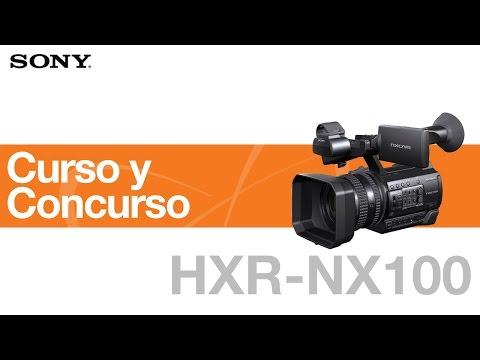 Curso y Concurso sobre la HXR-NX100
