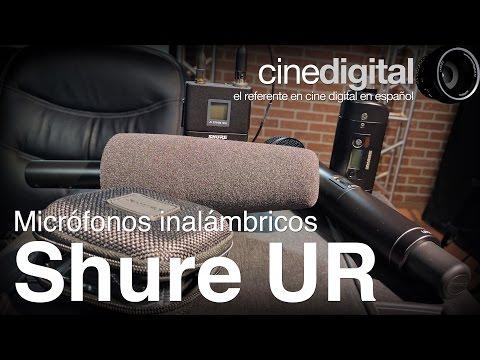 Micrófonos de la serie UR de Shure