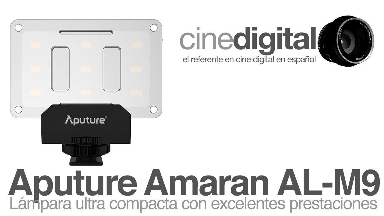 Aputure Amaran AL-M9 – Lámpara ultra compacta con grandes prestaciones