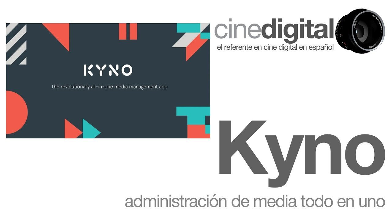 Kyno el administrador de media presenta su nueva versión 1.2 con grandes cambios.