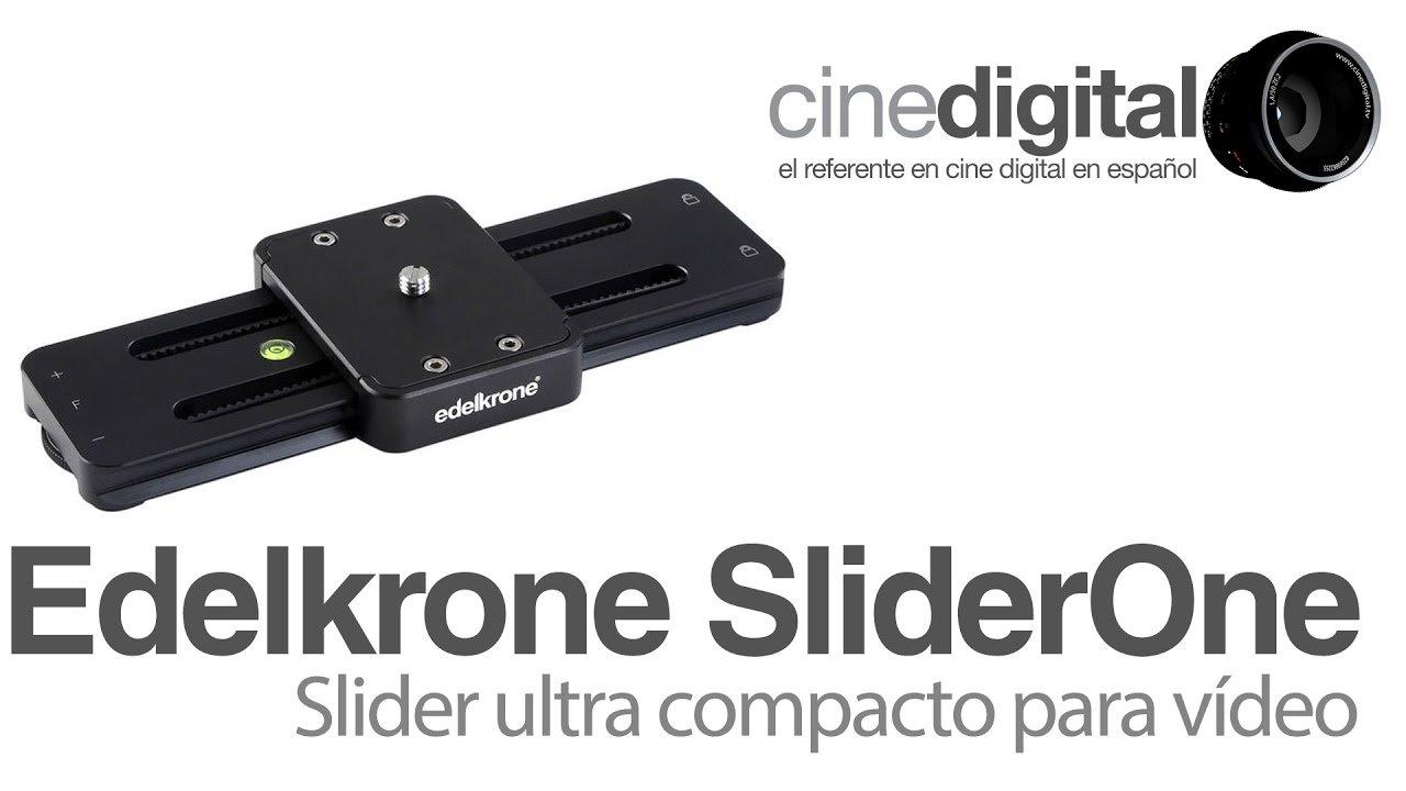 SliderOne de Edelkrone – Un slider ultra compacto