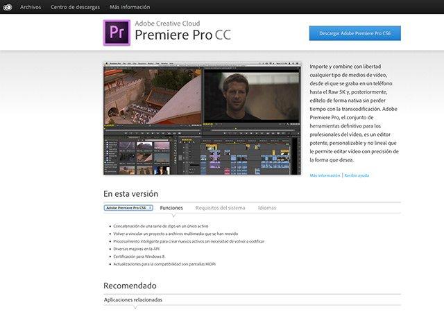 ¿Cómo instalar Encore con Premiere CC?