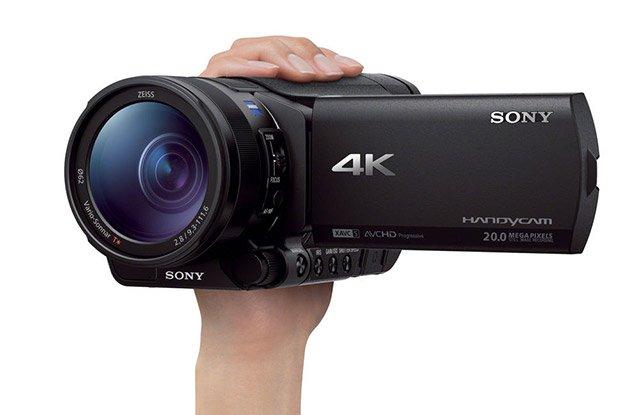 Sony FDR-AX100 - Handycam 4k